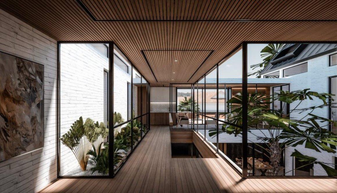 8. KTDS_2019_Courtyard House_Bridge