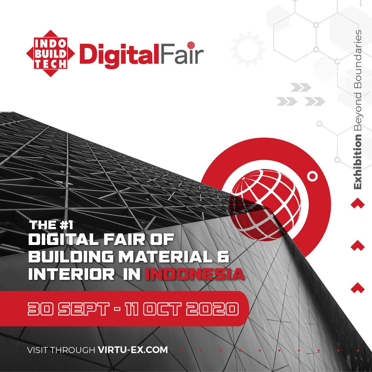 Poster IndoBuildTech Digital Fair 2020